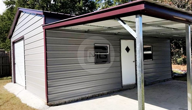 32 X 25 Garage With Lean To 32 X 25 Metal Garage Prices