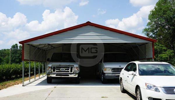 24x26 Metal Carport