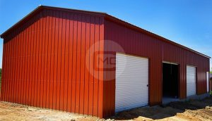 24x61 Enclosed Garage