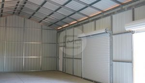 24x61 Enclosed Garage