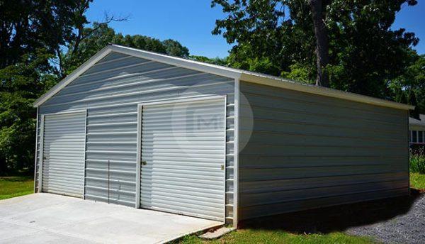 28x26 Metal Garage
