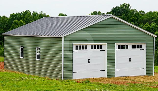 26x36 Steel Garage