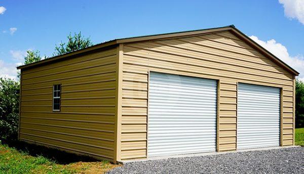 30x25 Vertical Roof Garage | 30x25 Metal Garage Prices