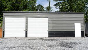 30x41 Metal Garage
