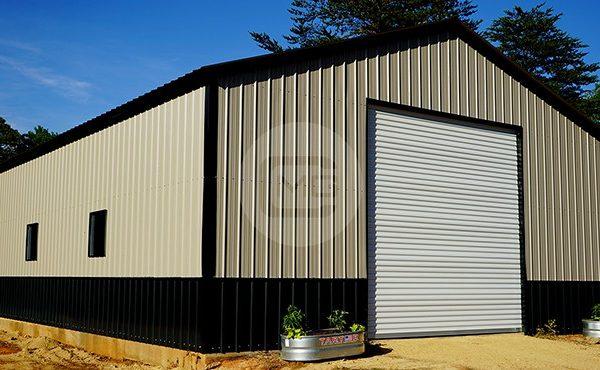 30x41 Vertical Metal Garage 30x41 Steel Garage Prices