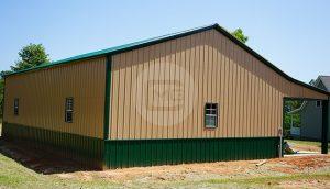 42x46 Side Entry Garage