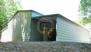 48x36 Metal Barn