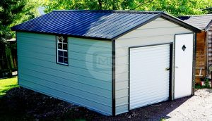 12x19 Steel Garage