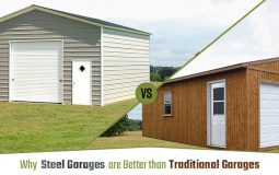 Why Steel Garages are Better than Traditional Garages