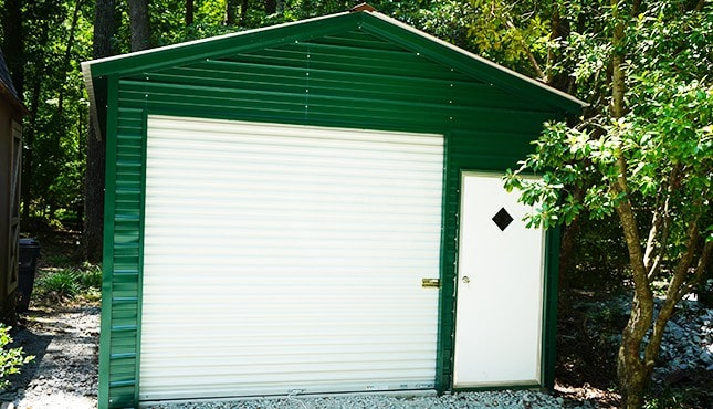 14x25 Metal Garage