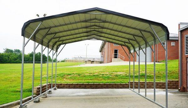 18x26 Regular Roof Steel Carport