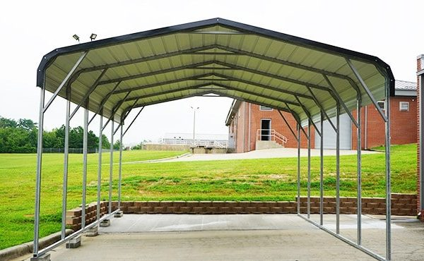 18x26 Regular Roof Carport 18x26 Steel Carport Prices