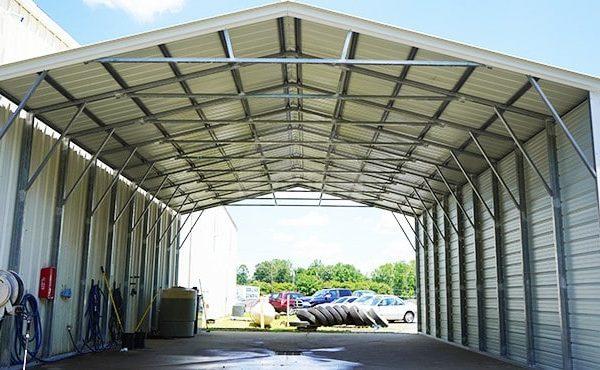 30x41 Vertical Roof Carport 30x41 Steel Carport Prices