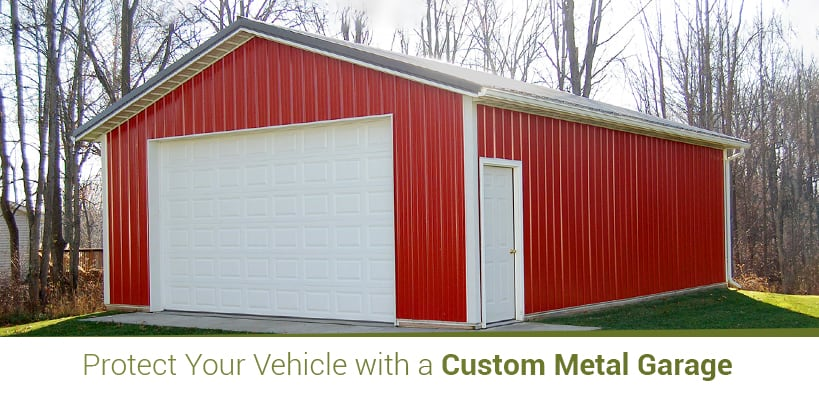 Protect Your Vehicle with a Custom Metal Garage