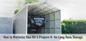 How to Winterize Your RV & Prepare It for Long-Term Storage