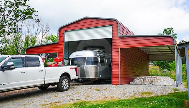 42x36 Regular Roof Horse Barn