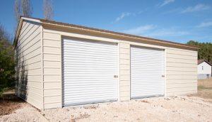 22x31 Vertical Roof Garage