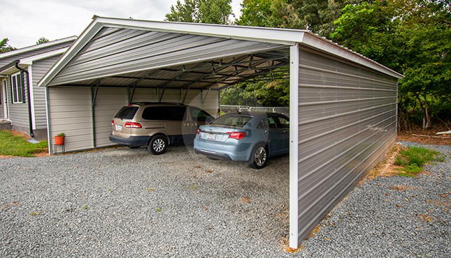 30x31 Triple Wide Carport