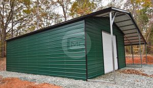 24x41 Steel Utility Building