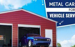 Metal Garage Kits for Vehicle Service Shops