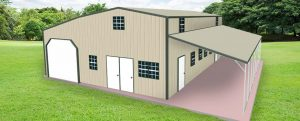 Metal Garages With Living Quarters1