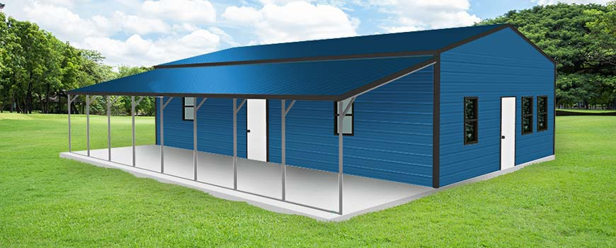 Metal Garages With Living Quarters3