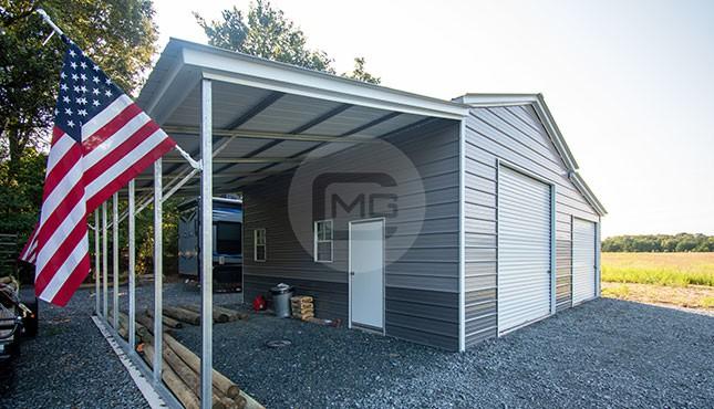 42x25x12 Metal Barn Building