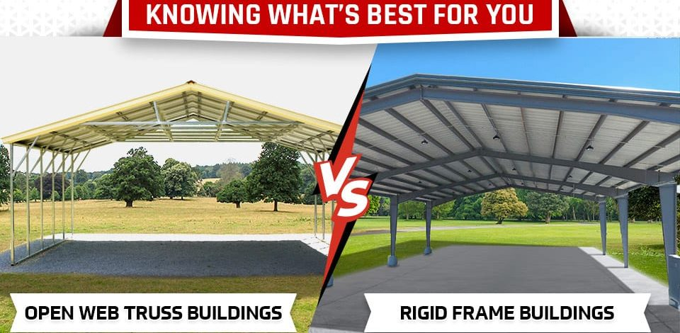 Knowing What's Best for You: Open Web Truss Buildings vs. Rigid Frame Buildings